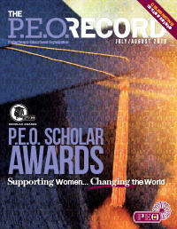 P.E.O. Record July-August 2019