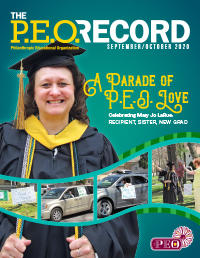 P.E.O. Record September-October 2020