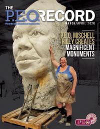 P.E.O. Record March-April 2020