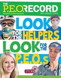 P.E.O. Record July-August 2020
